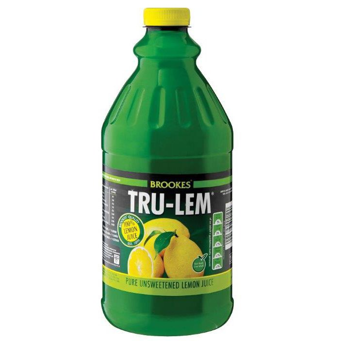 Brookes Trulem Lemon Juice 2L