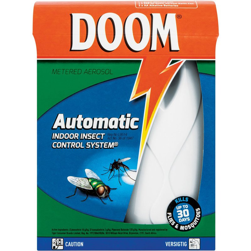 Doom Automatic Starter Pack (Uniit + 240ml Refill)