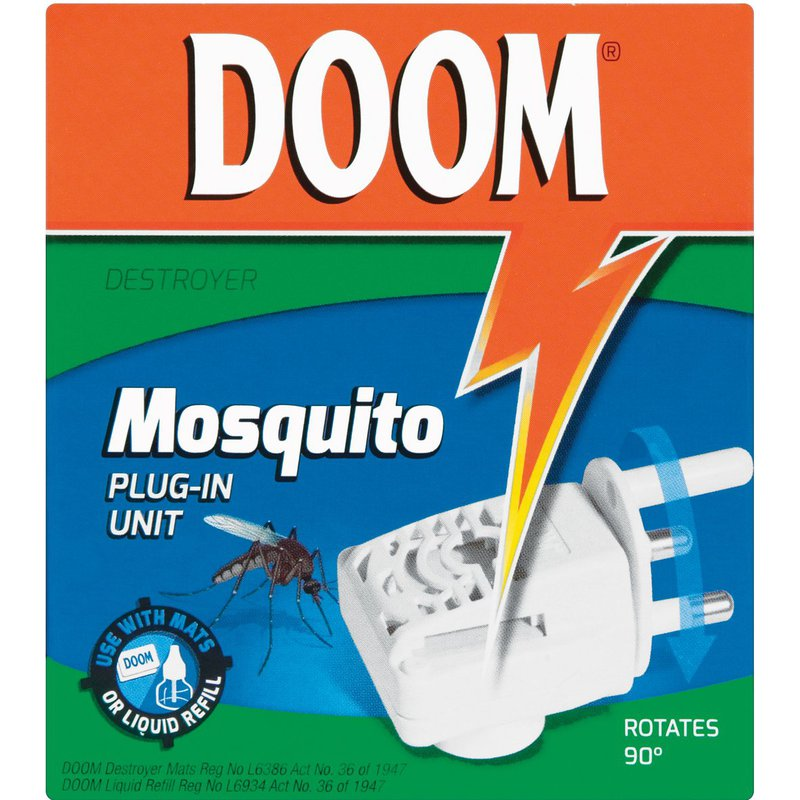 Doom Destroyer Plug-in-unit with Doom Liquid Refill 86g/35ml