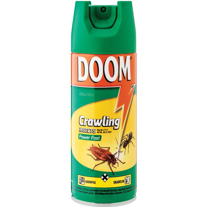 Doom Crawling Insects Powerfast 180ml