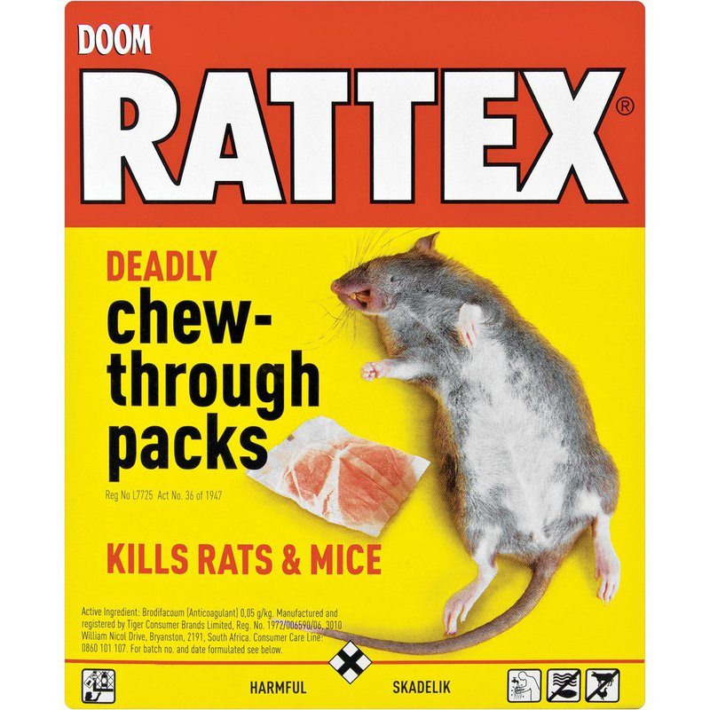 Doom Rattex Deadly Chew Through Pack 25g