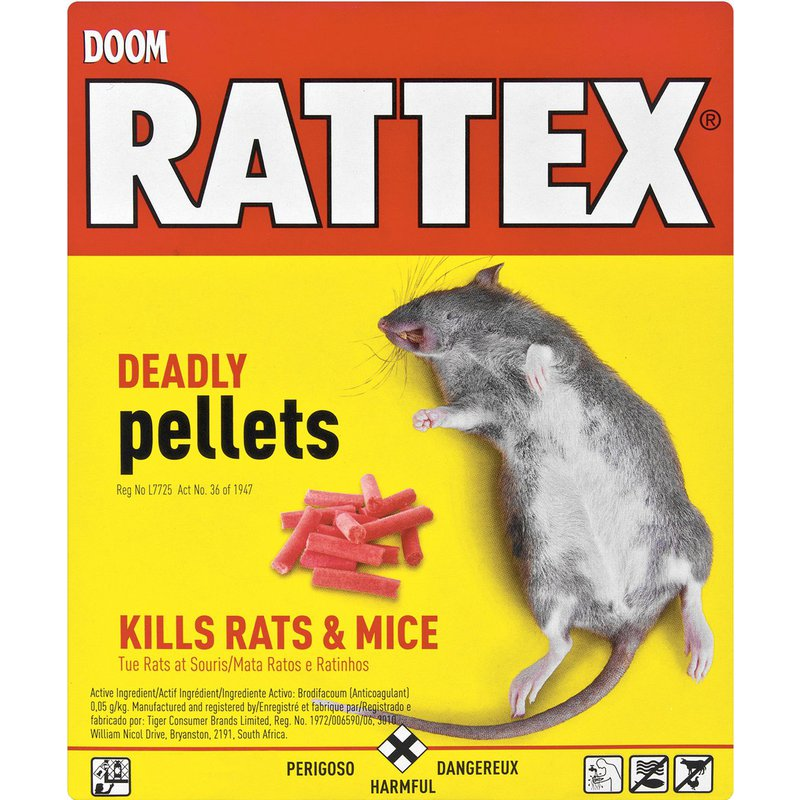 Doom Rattex Deadly Pellets 100g