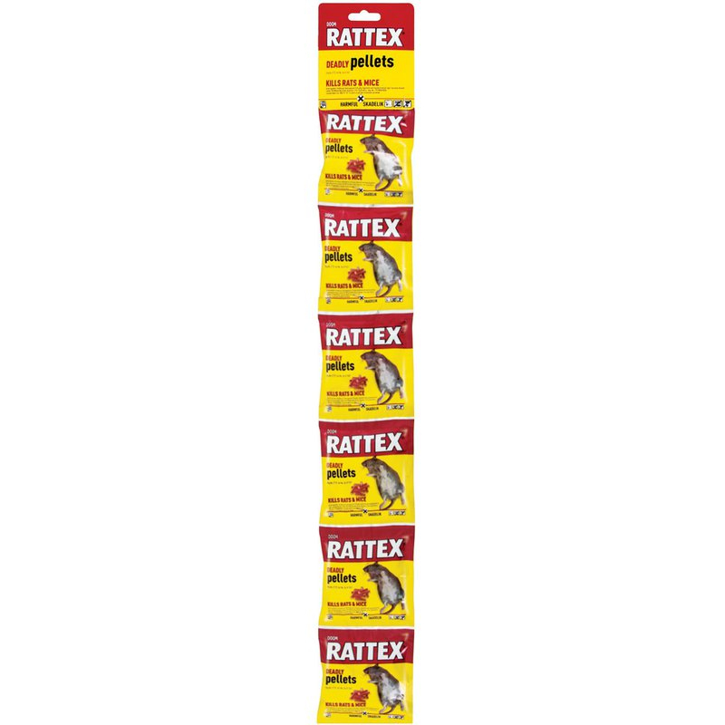 Doom Rattex Deadly Pellets Sachets 25g