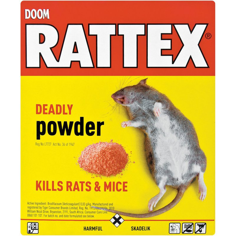Doom Rattex Deadly Powder 100g