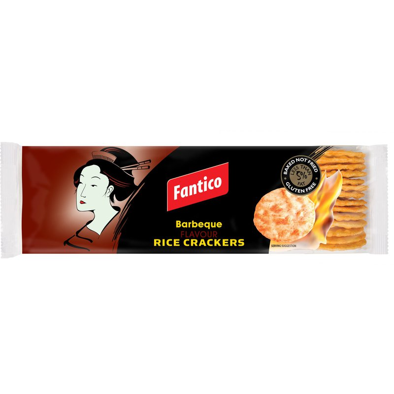 Fantico Barbeque Rice Crackers 100g