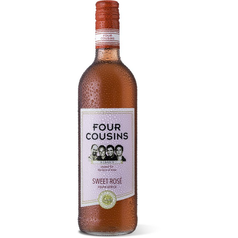 Four Cousins Natural Sweet Rose 750ml