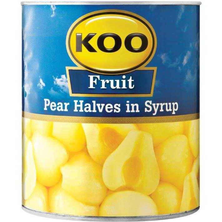 Koo Pear Halves in Syrup 3.06Kg