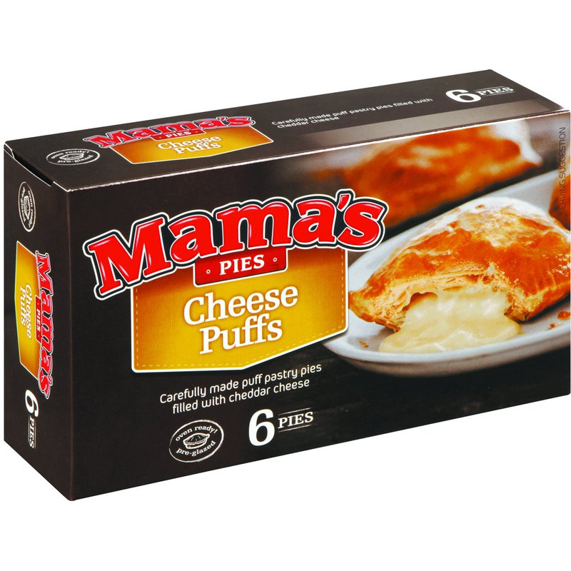 Mama's Pies 6's - Cheese Puffs 960g