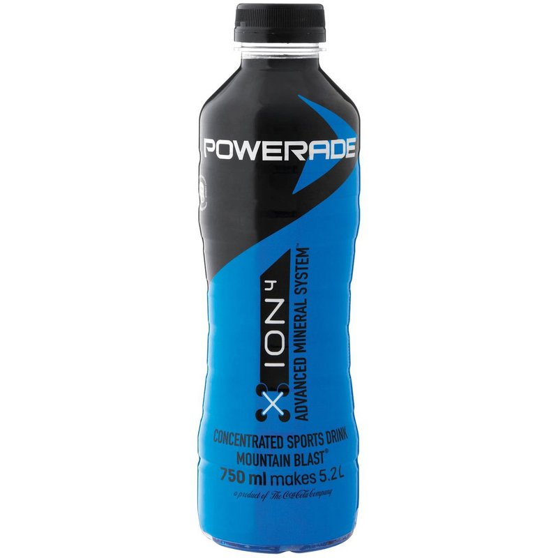 Powerade Concentrate Mountain Blast PET NR 750ml