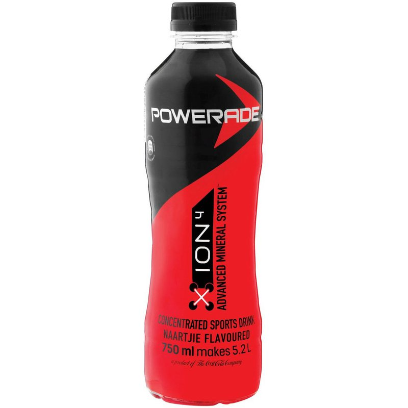 Powerade Concentrate Naartjie PET NR 750ml