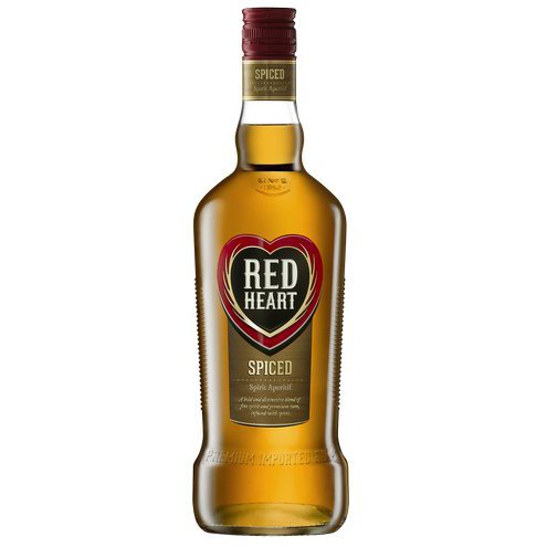 Red Heart Spiced Rum 750ml